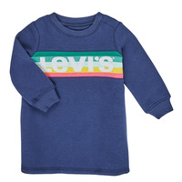 Vêtements Fille Robes courtes Levi's SWEATSHIRT DRESS Bleu