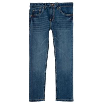 Vêtements Garçon Jeans slim Levi's 511 SLIM FIT JEAN Bleu