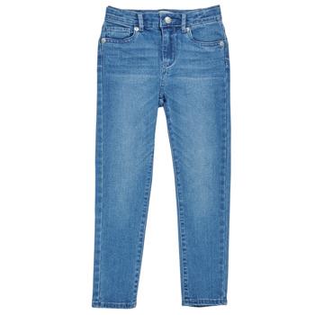 Vêtements Fille Jeans skinny Levi's 711 SKINNY JEAN Bleu