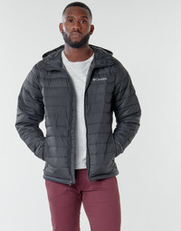 Vêtements Homme Doudounes Columbia POWDER LITE HOODED JACKET Noir
