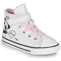 Chaussures Fille Baskets montantes Converse CHUCK TAYLOR ALL STAR 1V - NOTES FROM BFF Blanc