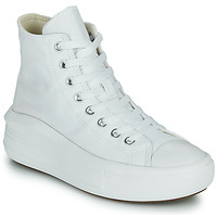 Chaussures Femme Baskets montantes Converse Chuck Taylor All Star Move Canvas Color Hi Blanc