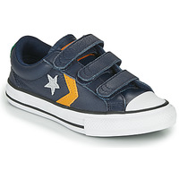Chaussures Enfant Baskets basses Converse STAR PLAYER 3V - OX Bleu / Moutarde