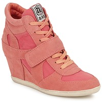 Chaussures Air max tnFemme Baskets montantes Ash BOWIE Rose pastel