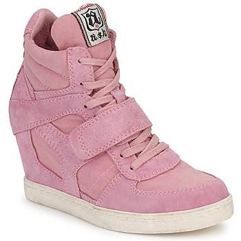 Chaussures Air max tnFemme Baskets montantes Ash COOL Rose