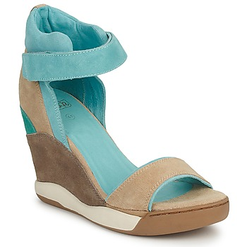 Sandale Ash ELOISE Marron / Bleu