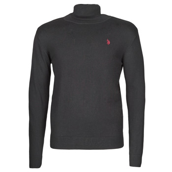 Vêtements Homme Pulls U.S Polo Assn. JON HIGH COLLAR KNIT Noir