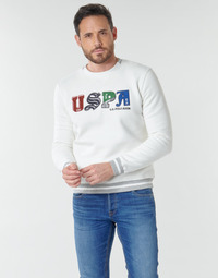 Vêtements Homme Sweats U.S Polo Assn. ANSON FLEECE Blanc
