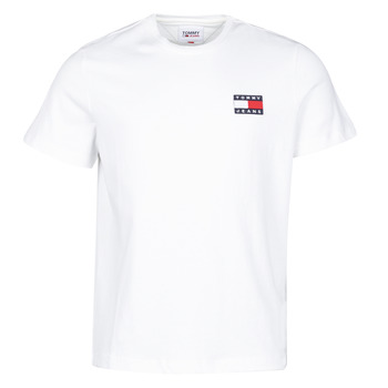 Vêtements Homme T-shirts manches courtes Tommy Jeans TJM TOMMY BADGE TEE Blanc