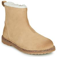 Chaussures Femme Boots Birkenstock MELROSE SHEARLING Beige