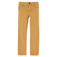 Vêtements Garçon Jeans slim Name it NKMTHEO Camel