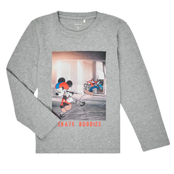 Vêtements Garçon T-shirts manches longues Name it NMMMICKEY EMIL Gris
