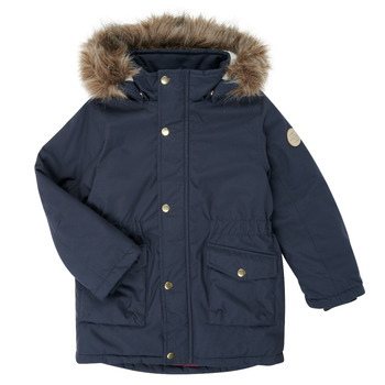 Vêtements Fille Parkas Name it NMFMIBIS Marine