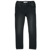 Vêtements Fille Jeans slim Name it NMFPOLLY Noir