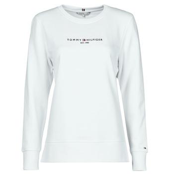 Vêtements Femme Sweats Tommy Hilfiger TH ESS HILFIGER C-NK SWEATSHIRT Blanc
