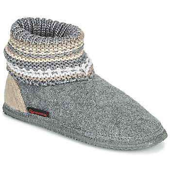Chaussures Femme Chaussons Giesswein KIEL Gris