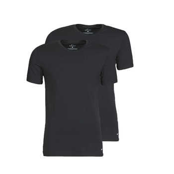 Vêtements Homme T-shirts manches courtes Nike EVERYDAY COTTON STRETCH Noir
