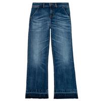 Vêtements Fille Jeans droit Tommy Hilfiger KG0KG05199-1BJ Bleu