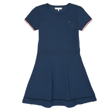 Vêtements Fille Robes courtes Tommy Hilfiger KG0KG05279-C87 Marine