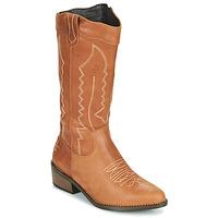 Chaussures Femme Bottes ville Musse & Cloud TEDINA Cognac