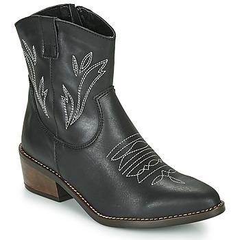 Chaussures Femme Bottines Musse & Cloud TOPY Noir