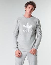 Vêtements Homme Sweats adidas Originals TREFOIL CREW Gris