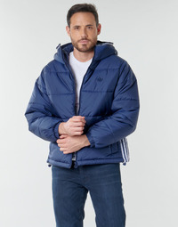 Vêtements Homme Doudounes adidas Originals PAD HOODED PUFF Bleu navy collégial