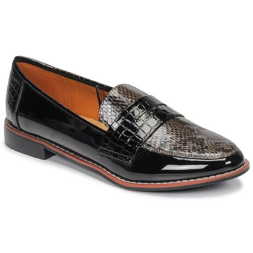 Chaussures Femme Mocassins Moony Mood NOULIE Noir