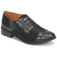 Chaussures Femme Derbies Moony Mood NOULESSE Noir