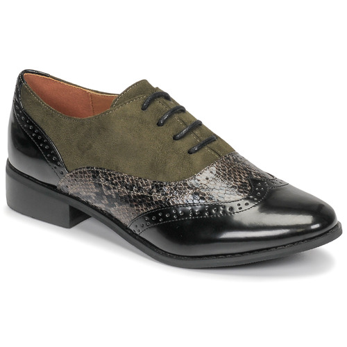 Chaussures Femme Derbies Moony Mood NOULIME Kaki