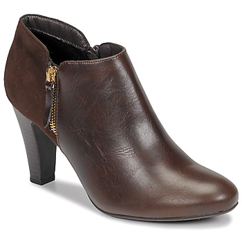 Chaussures Femme Bottines Moony Mood NOULETTE Marron
