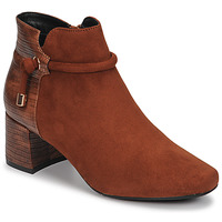 Chaussures Femme Bottines Moony Mood NANOU Camel