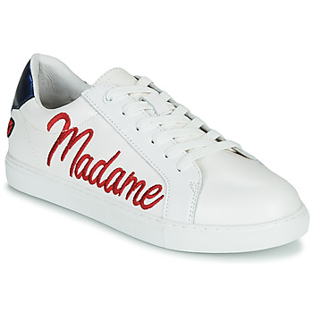 Chaussures Femme Baskets basses Bons baisers de Paname SIMONE MADAME MONSIEUR Blanc
