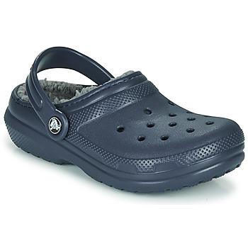 Chaussures Enfant Sabots Crocs CLASSIC LINED CLOG K Blue