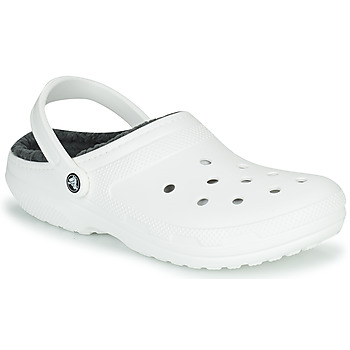 Chaussures Sabots Crocs CLASSIC LINED CLOG Blanc