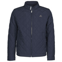 Vêtements Homme Blousons Gant QUILTED WINDCHEATER Marine