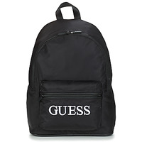 Sacs Homme Sacs à dos Guess QUARTO BACKPACK Noir