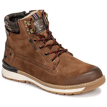 Chaussures Homme Boots Mustang 4141503 Marron