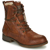 Chaussures Femme Boots Mustang 1139630 Cognac