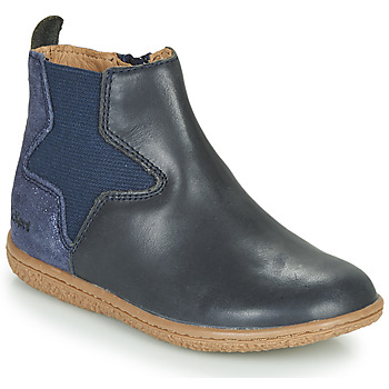 Chaussures Fille Boots Kickers VERMILLON Marine