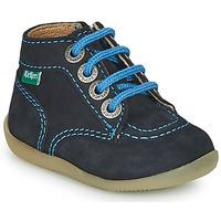 Chaussures Garçon Boots Kickers BONZIP-2 Marine
