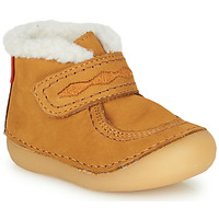 Chaussures Fille Boots Kickers SOETNIC Camel