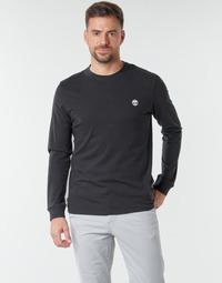 Vêtements Homme T-shirts manches longues Timberland LS Dunstan River Tee Noir