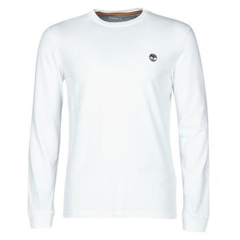 Vêtements Homme T-shirts manches longues Timberland LS Dunstan River Tee Blanc