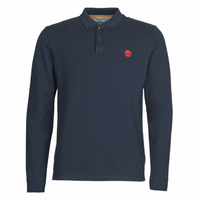 Vêtements Homme Polos manches longues Timberland LS MR Polo Slim Marine