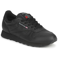 Chaussures Baskets basses Reebok Classic CLASSIC LEATHER Noir