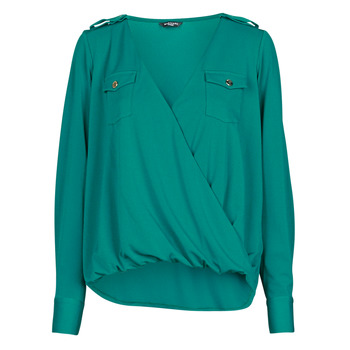 Vêtements Femme Tops / Blouses Marciano SALLY CREPE TOP Vert
