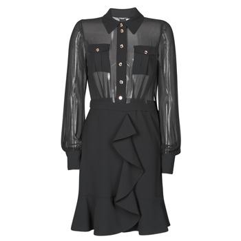 Vêtements Femme Robes courtes Marciano CAROL SHORT DRESS Noir
