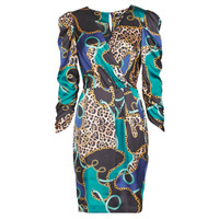 Vêtements Femme Robes courtes Marciano FOULARD SHORT DRESS Multicolore