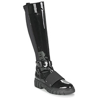 Chaussures Femme Boots Philippe Morvan DARMY V1 VERNIS NOIR Noir